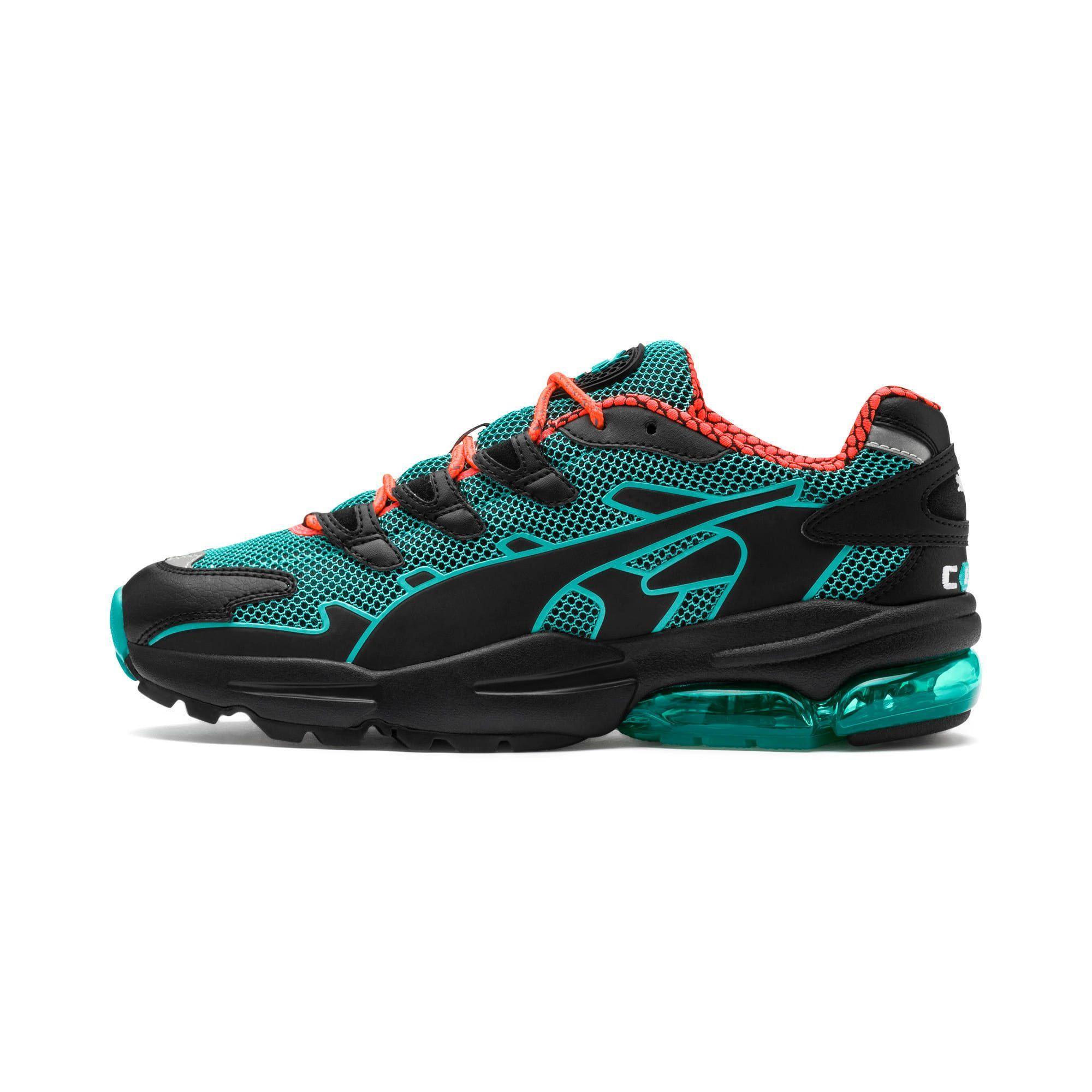 puma turquoise trainers