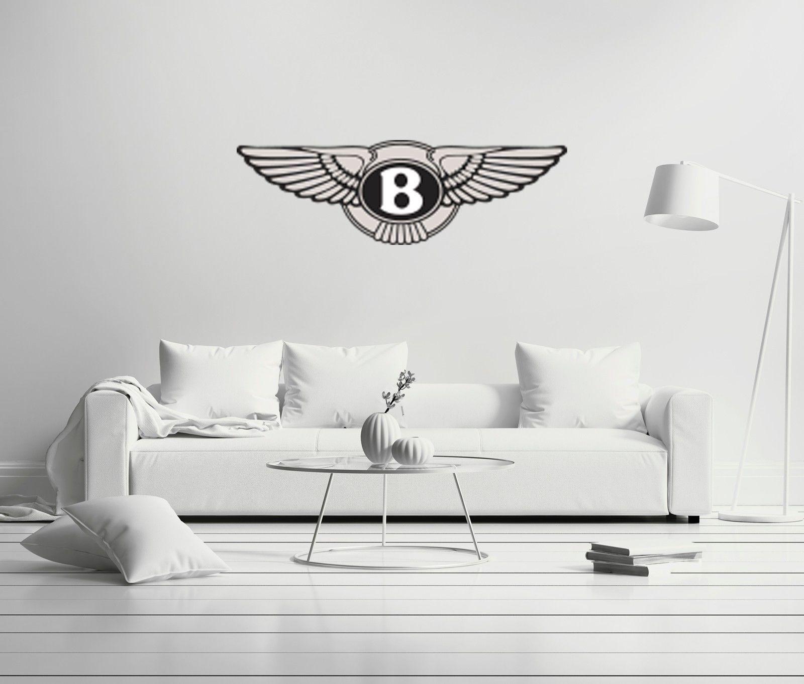 Luxury Cars: Bentley Shield Cars Company Luxury Wall Decal