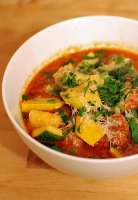 Spicy summer squash and sausage stew recipe sausage stew food favorite recipes forumfinder Image collections