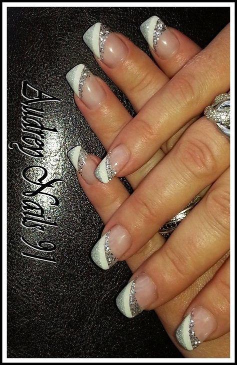 Bildergebnis Fr Nailart French Nails Pinterest Manicure