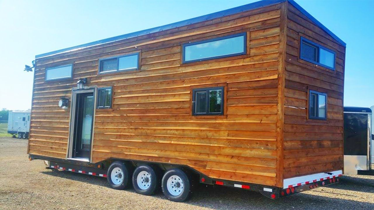 gorgeous beautiful tiny house on wheels 28 ft long on beautiful tiny home ever id=37926