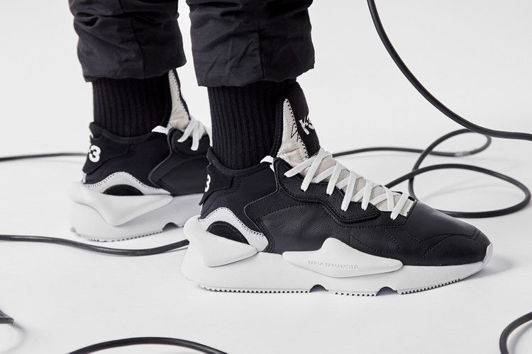 contar Residente Lidiar con  On-Foot Shots of the adidas Y-3 Kaiwa | Sneakers, Pictures of shoes, Crazy  sneakers