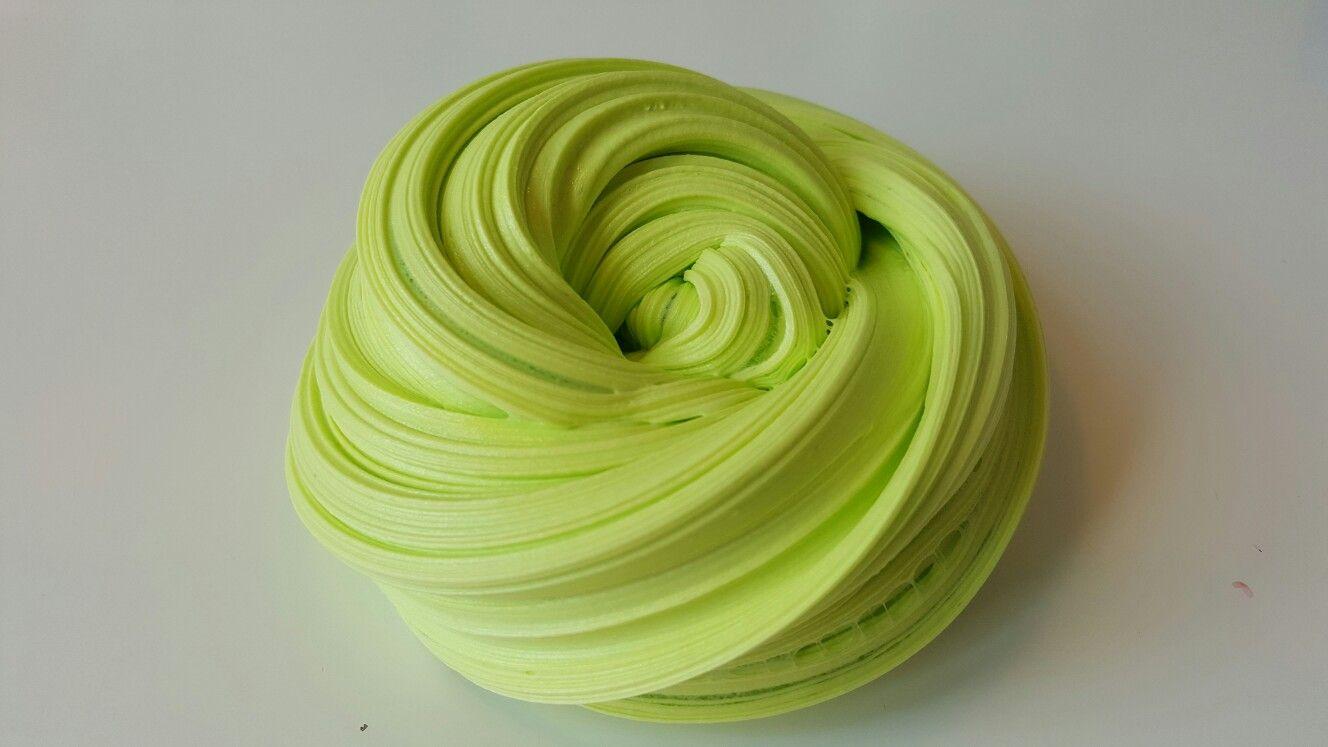 Juicy Pear  #BUBBLEGUM Slime