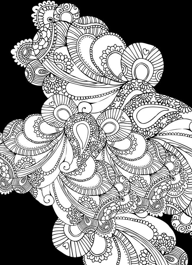 Creative Haven Magical Mehndi Designs Coloring Book: Striking ...