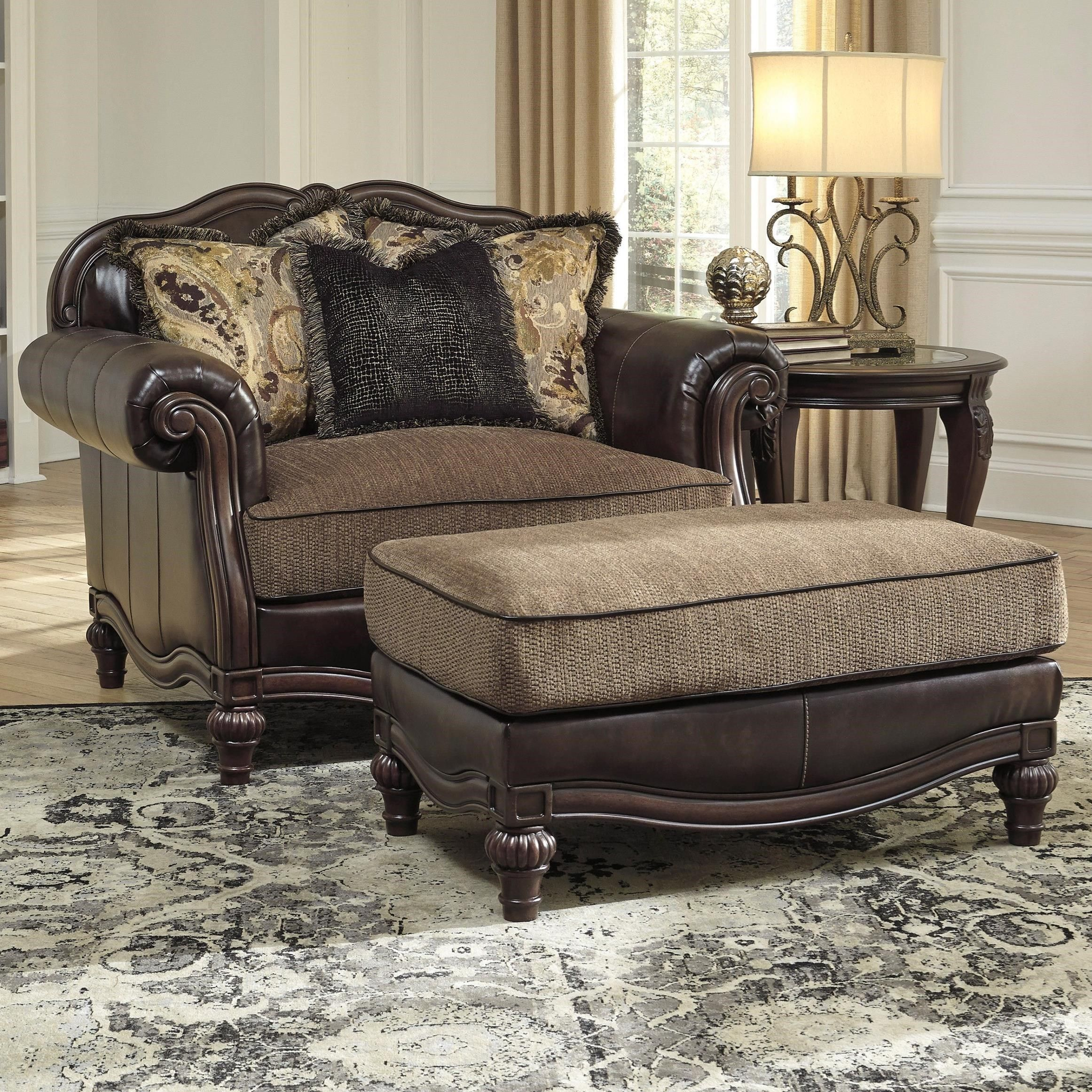Best Traditional Chair And A Half Ottoman Vintage Chairs 400 x 300