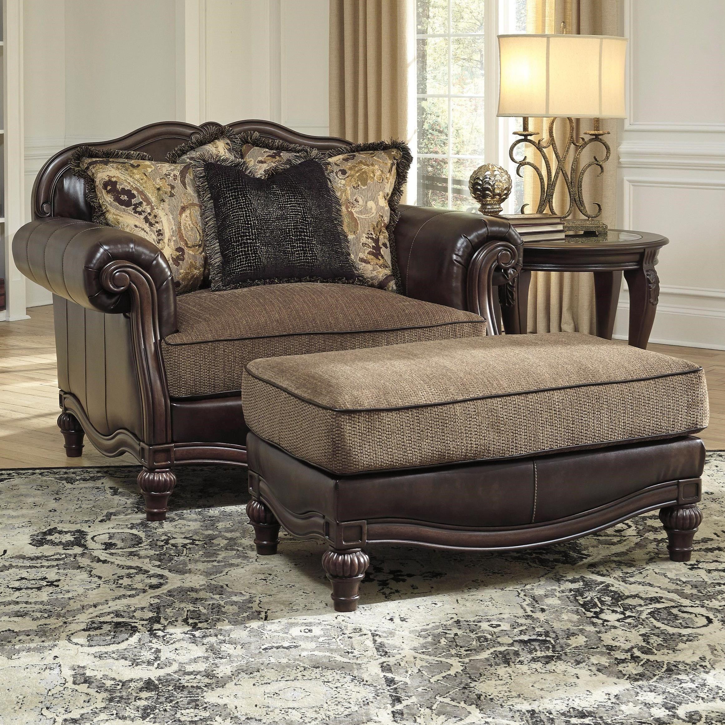 Winnsboro DuraBlend Chair and a Half Couch Pinterest