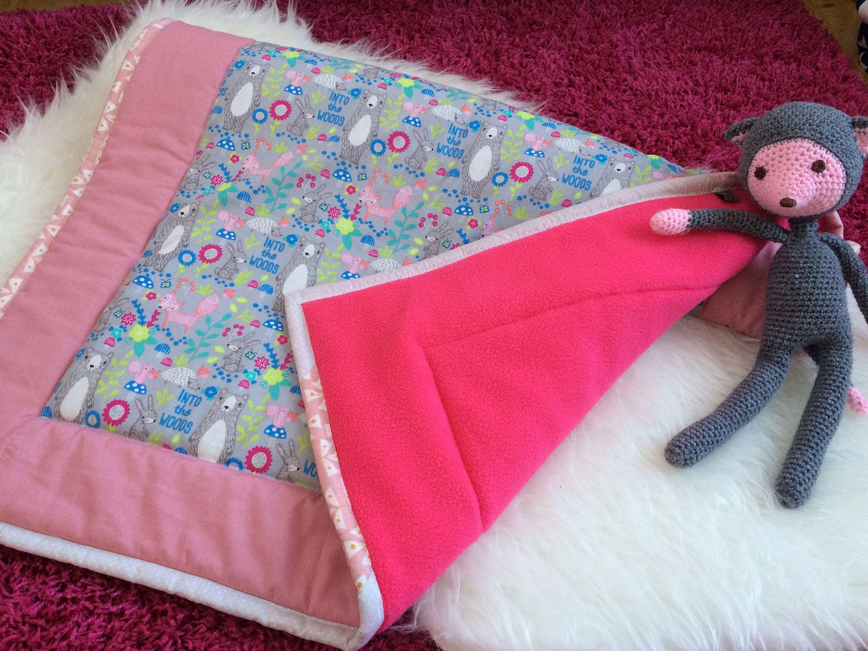 Lovely baby girl blanket handmade blanket newborn baby blanket