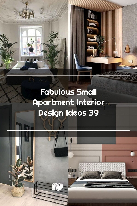 Fabulous Small Apartment Interior Design Ideas 39 Small Apartment Interior Interior Design Apartment Small Apartment Interior