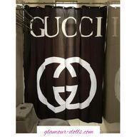 Gucci Shower Curtain