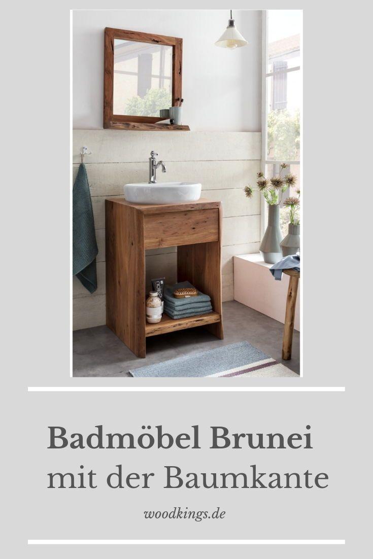 Mogen Sie Es Rustikal In Ihrem Badezimmer Dann Ist Unsere Badserie Brunei Perfekt Fur Sie Waschtisch Holz Badezimmer Waschtisch Waschtisch Holz Unterschrank