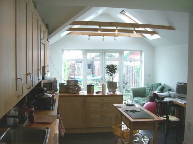 Image Result For Kitchen Extension Pitched Roof Kitchen