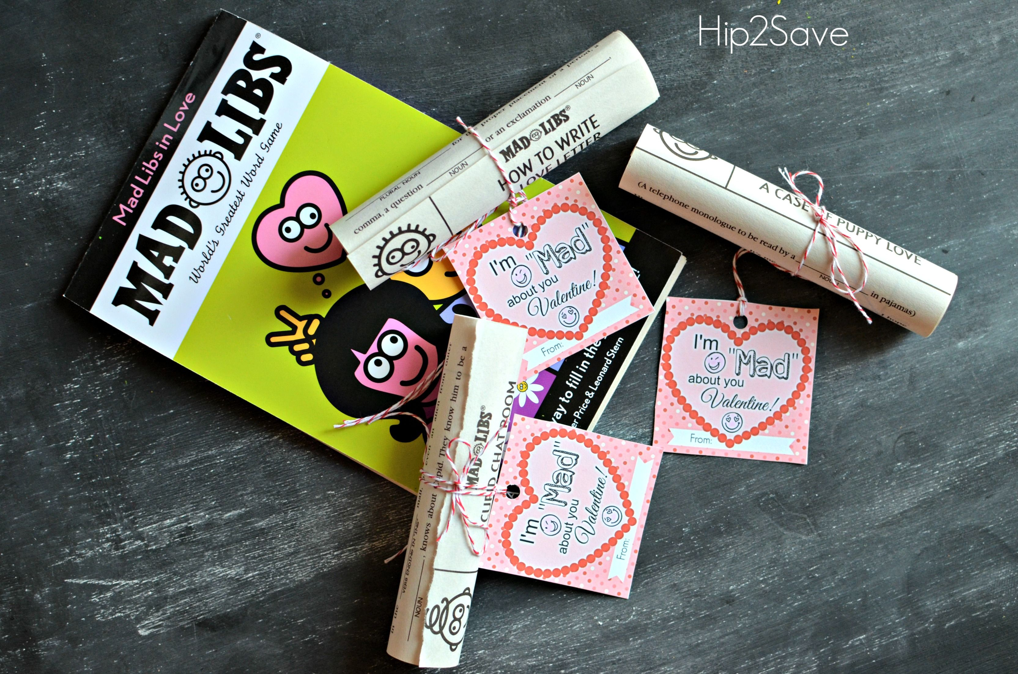 Mad Libs Classroom Valentine Idea Free Printable