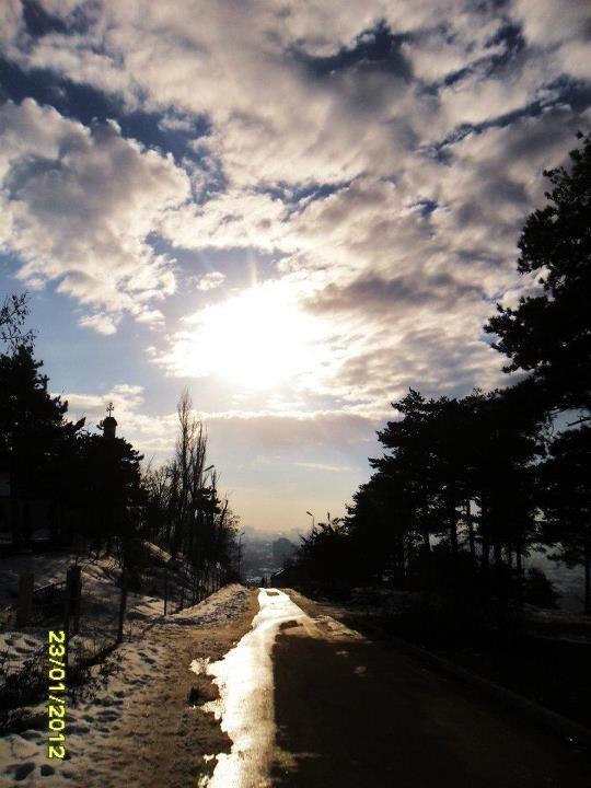 winter, Korce-Albania