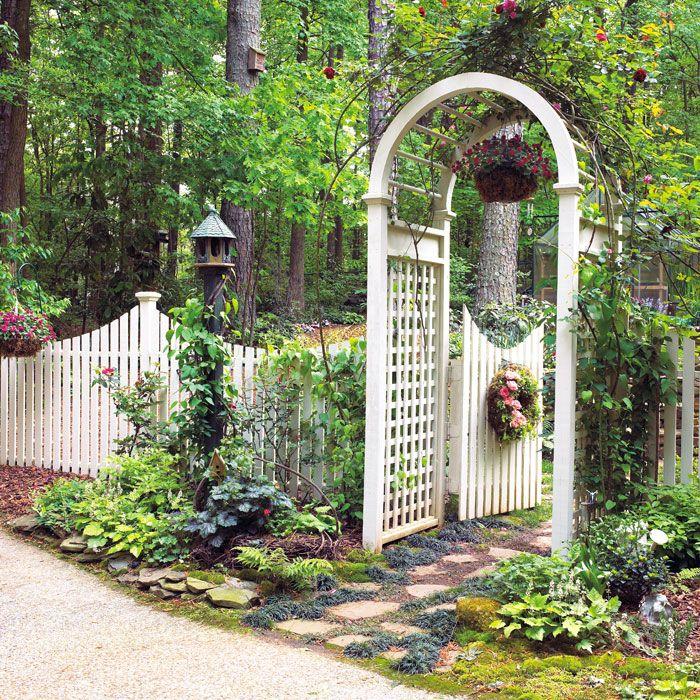 15 Outstanding Contemporary Landscaping Ideas Your Garden: Garden Gates, Garden, Garden Arbor