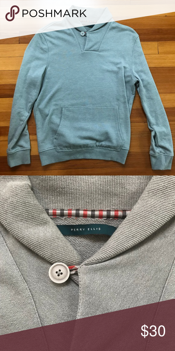 Perry Ellis Men s Shawl Collar Sweater Brand New!! Perfect condition. Never  once worn because it is too small for me. I received it as a gift for  Christmas ... d24ce4ce8