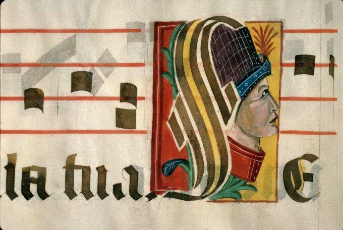 Aix-en-Provence - BM - ms. 1549 TITRE OUVRAGE Graduel DOMAINE Liturgie DATATION 16e s.