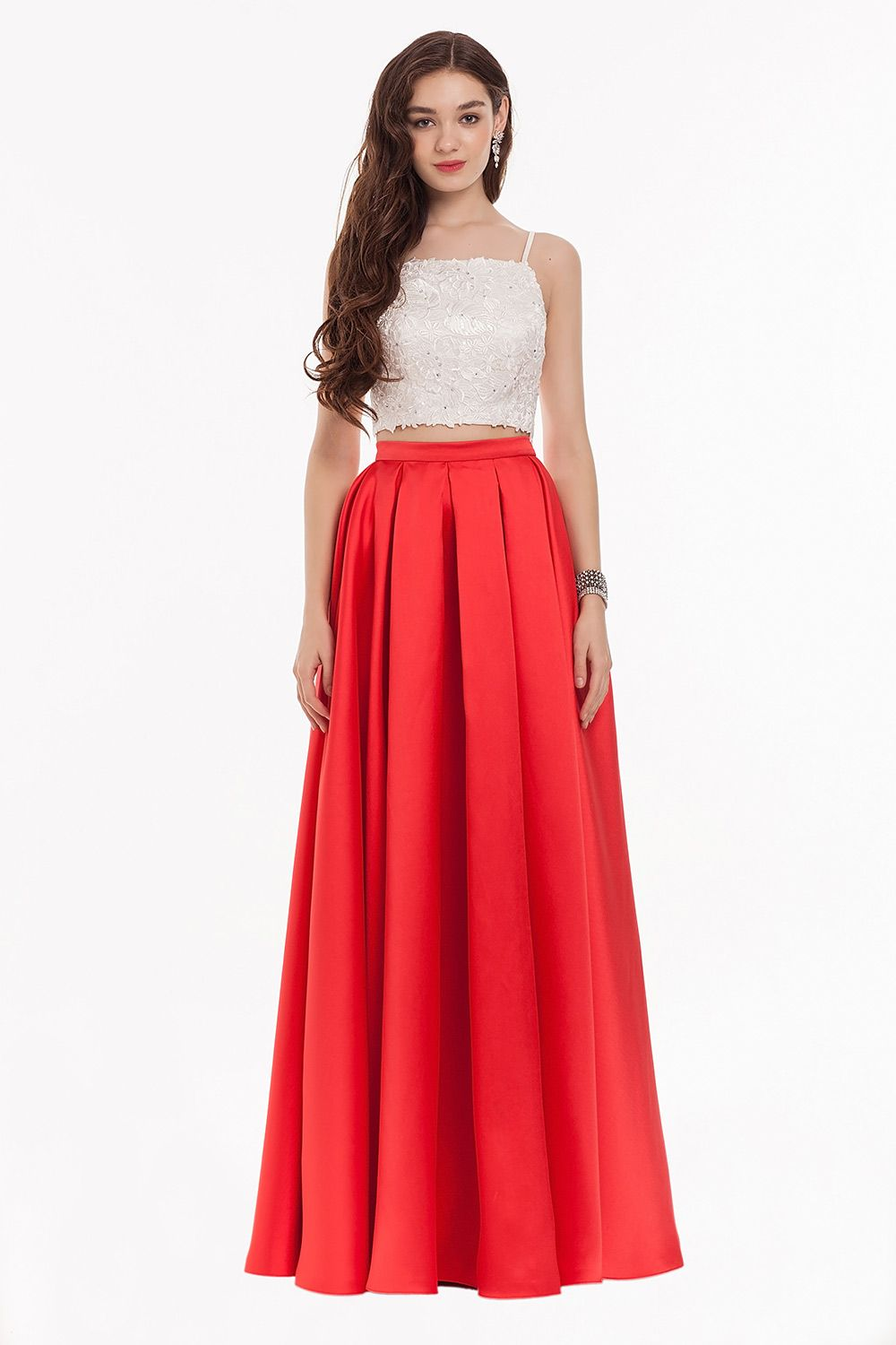 Quincenara Dresses Halter Neck Red