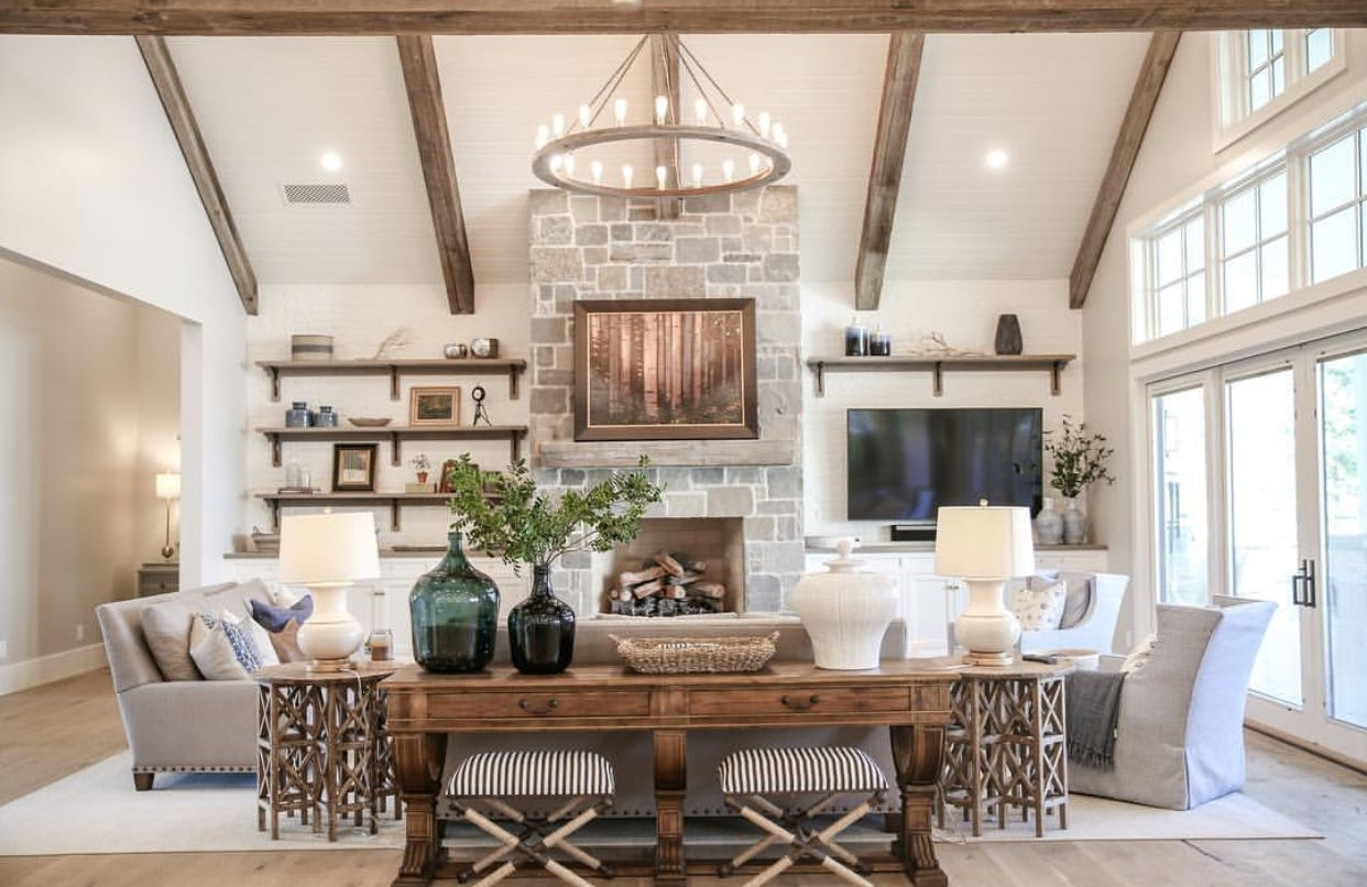 Pin by Hull Custom Interiors on DESIGN | Great Rooms (With ...