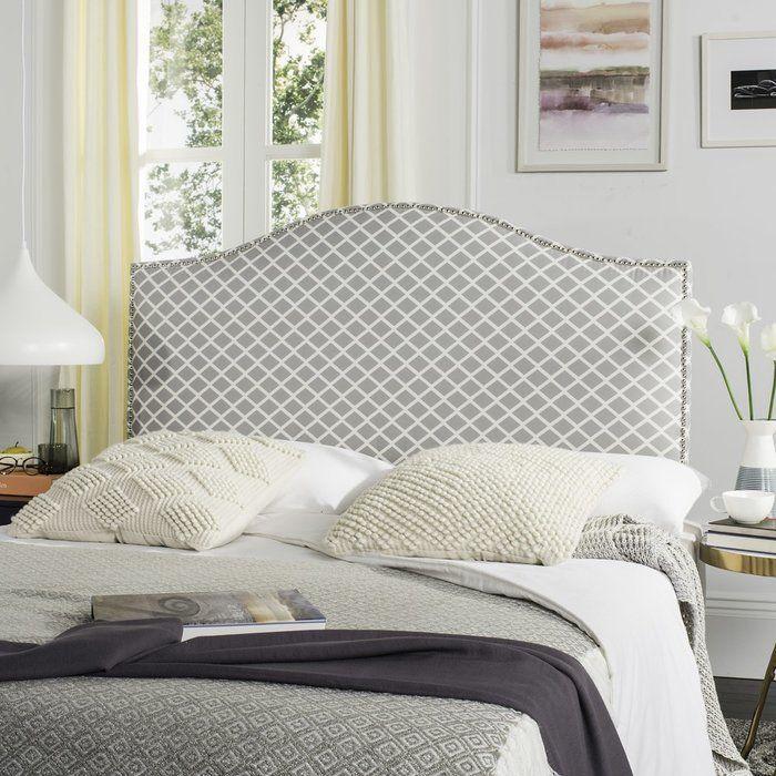Carol Queen Upholstered Headboard | Camas, Uñas y Telas