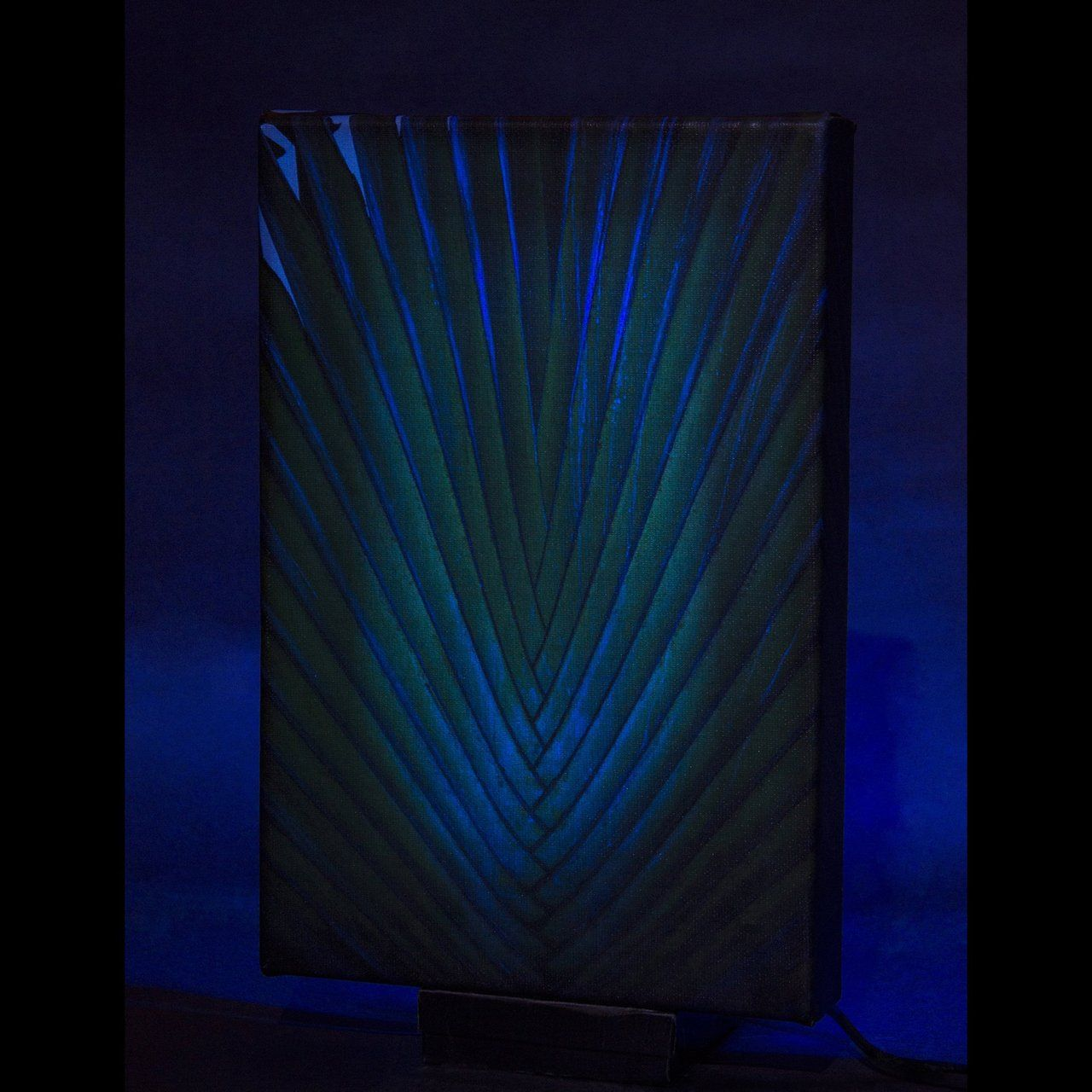 Light up your space with the LED Canvas Art !- Artwork by