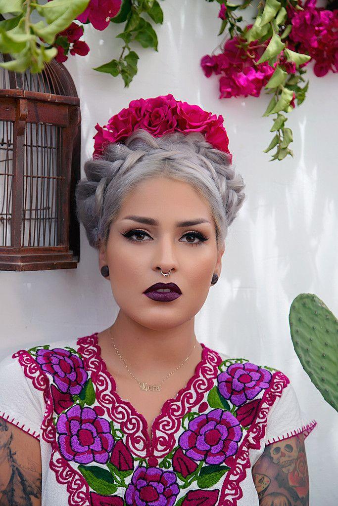 Melt Cosmetics Dark Room Mexican Hairstyles Silver Grey Hair Hair Styles