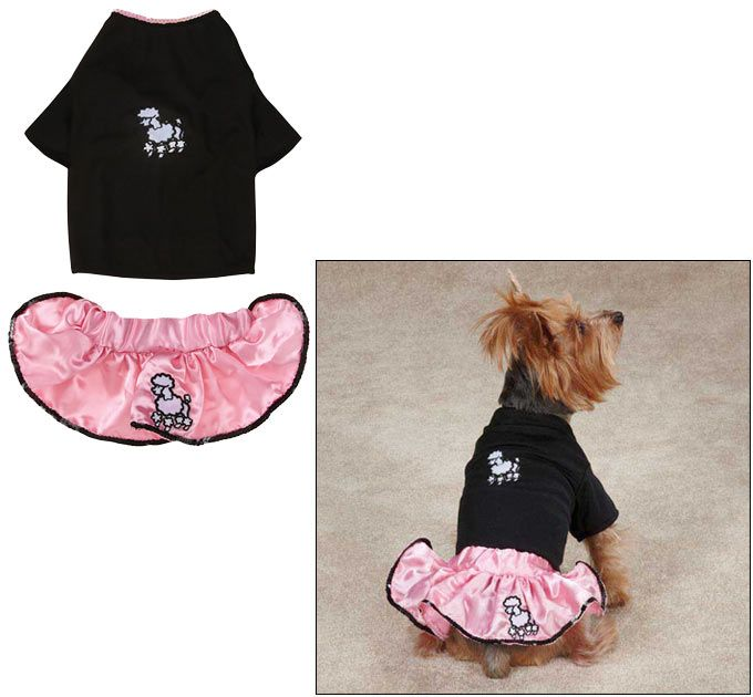 Casual Canine Poodle Skirt Dog Costume At The Animal Rescue Site