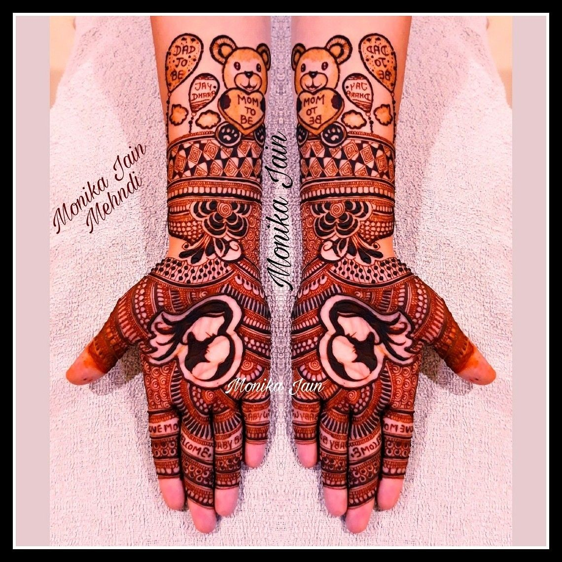 Mehndi For Baby Shower