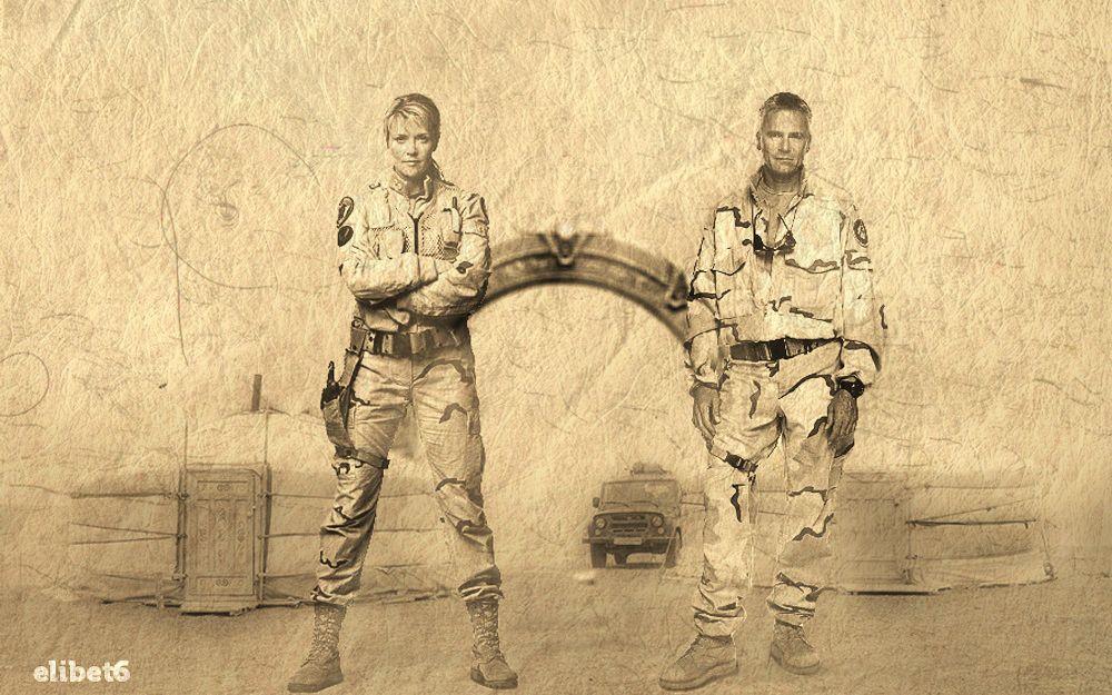 STARGATE SG-1 : SAM and JACK.