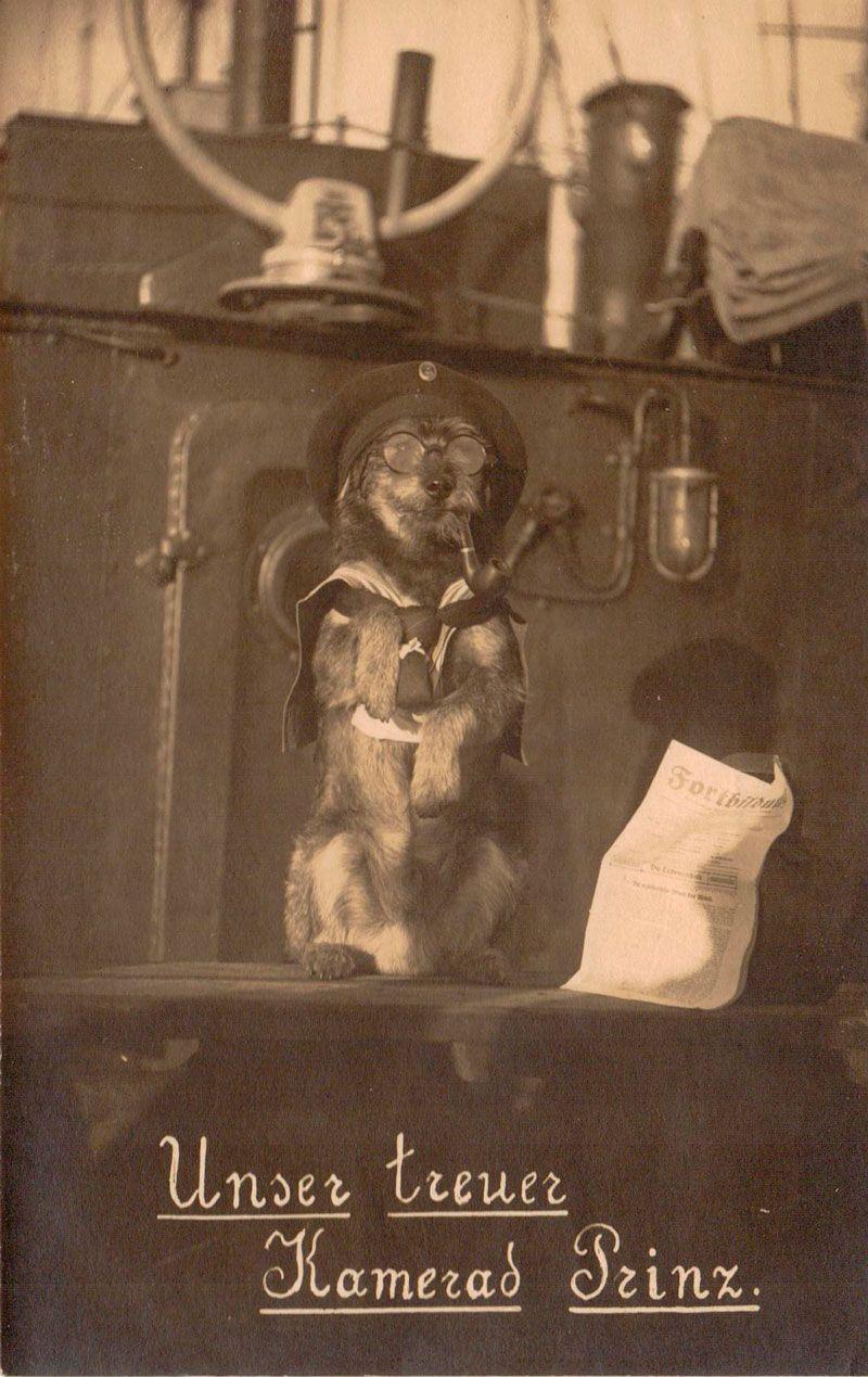 German mascotte, WW1