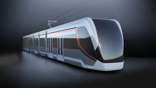 Tram design concept for an international client.   Light ...