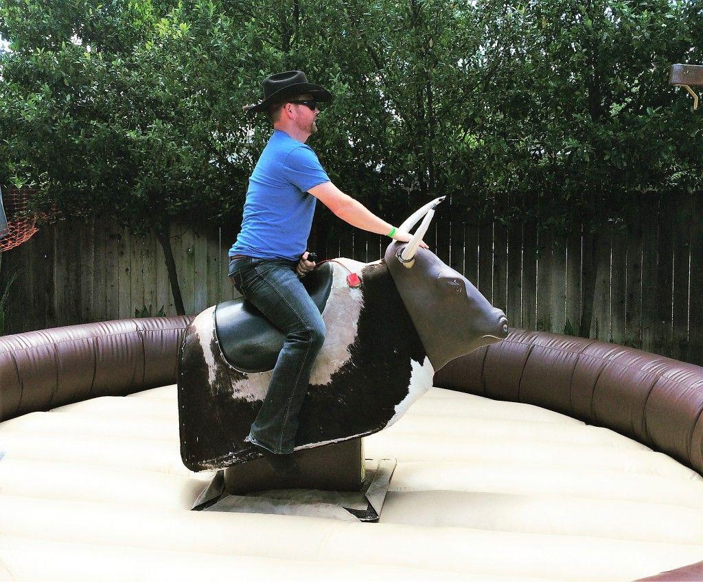 Mechanical bull rental all for fun rentals mechanical