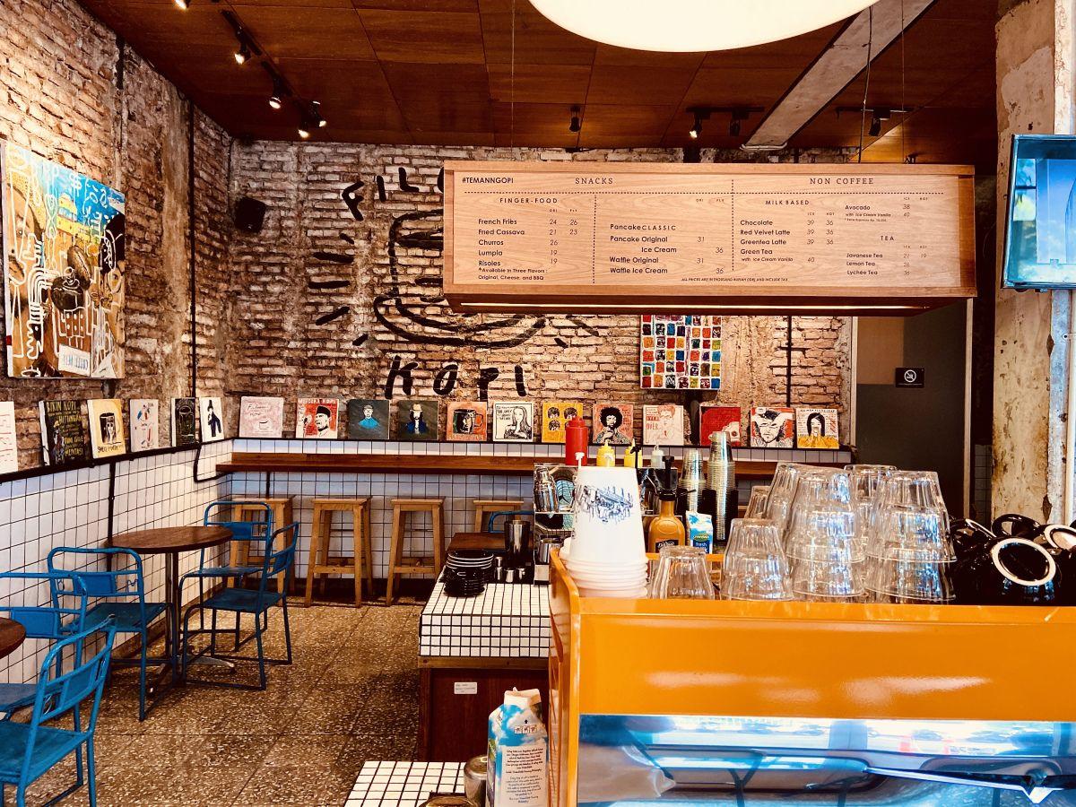 Filosofi Kopi in 2020 Coffee shop, Kopi, Central jakarta