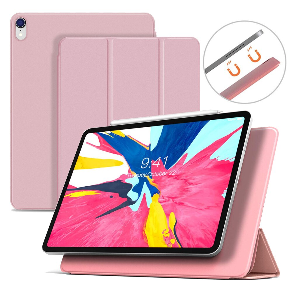 Smart Folio Case For New Ipad Pro 11 Ultra Slim Original Official 1 1 Magnetic Cover With Back Case New Ipad Pro Ipad Pro Ipad Case