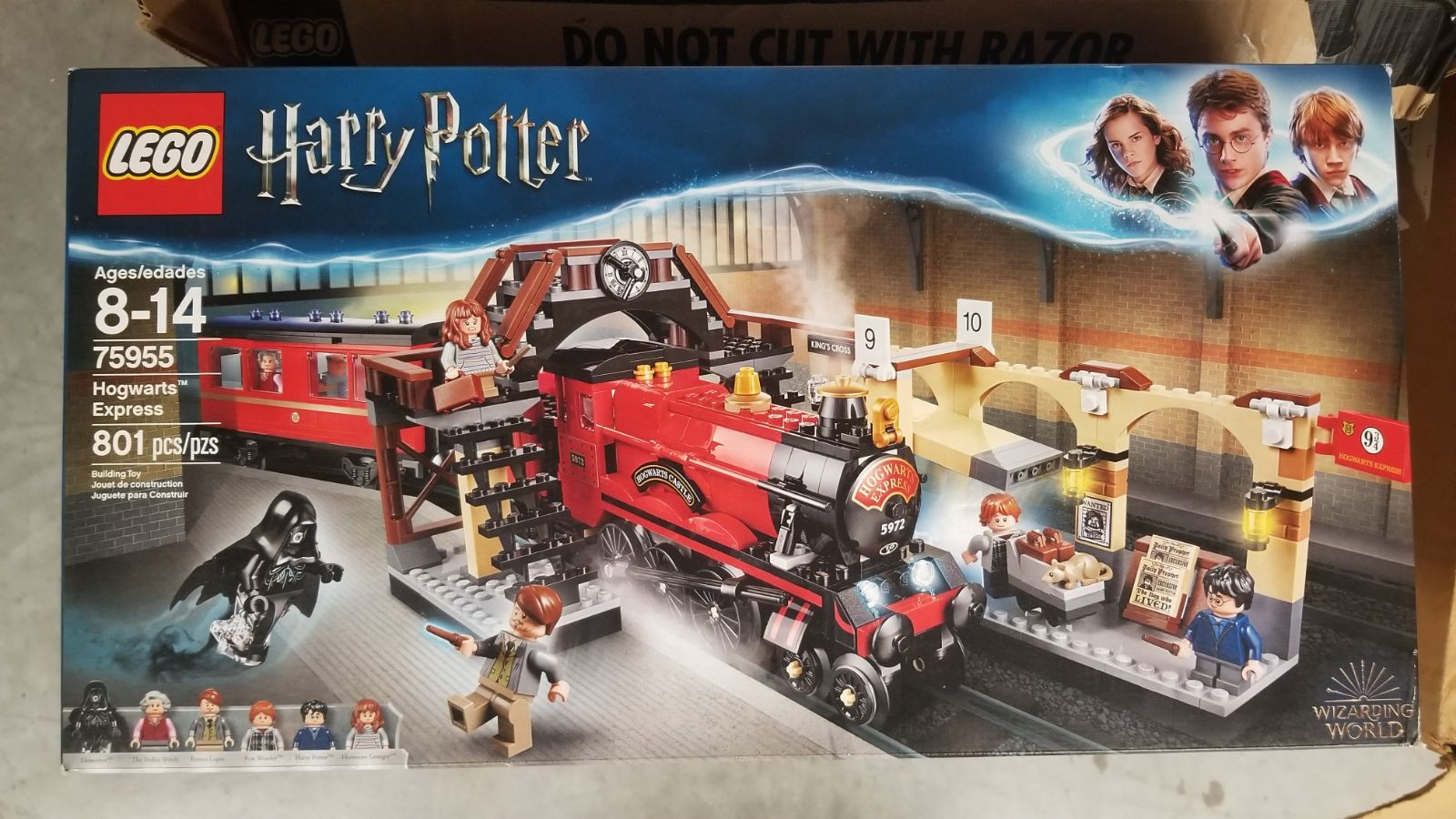 Professor Remus Minifigure from 75955 Hogwarts Express Train LEGO Harry Potter