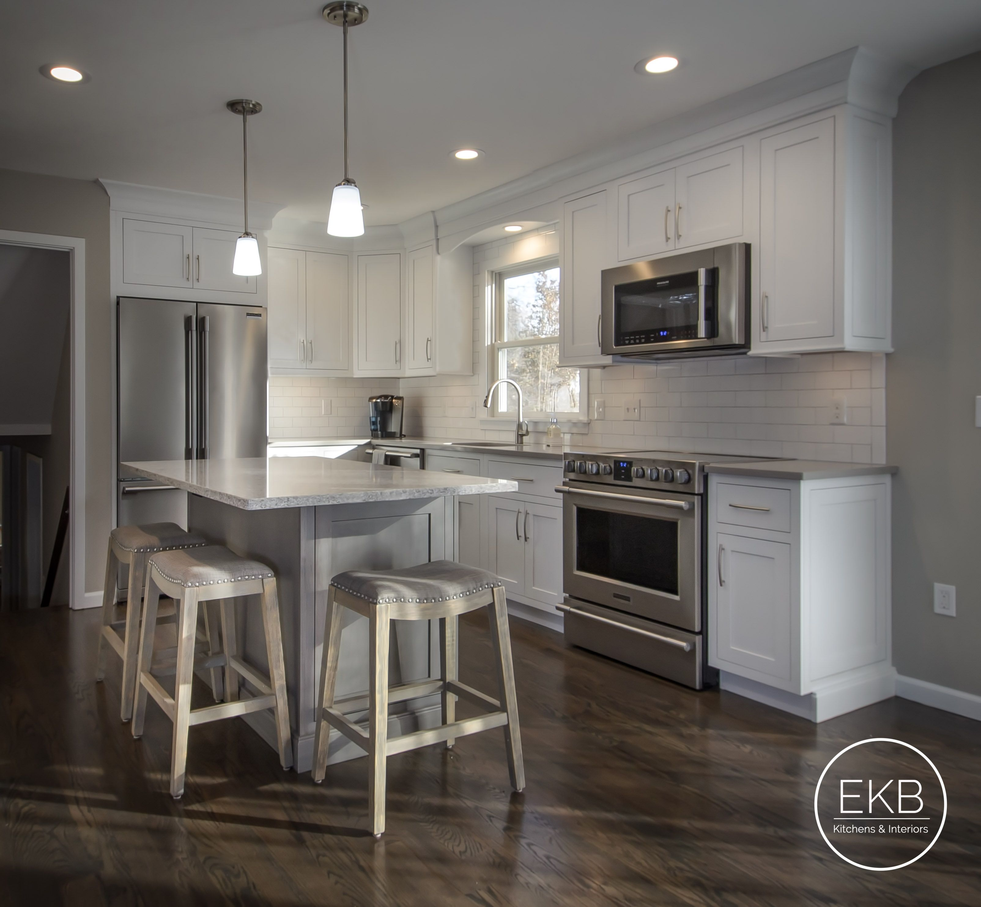 This beatuiful kitchen features Shiloh inset in