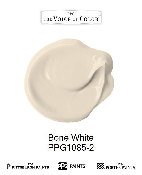 Bone White Is A Part Of The Off Whites Collection By Ppg Voice Color Browse This Paint And More Collections For Inspiration