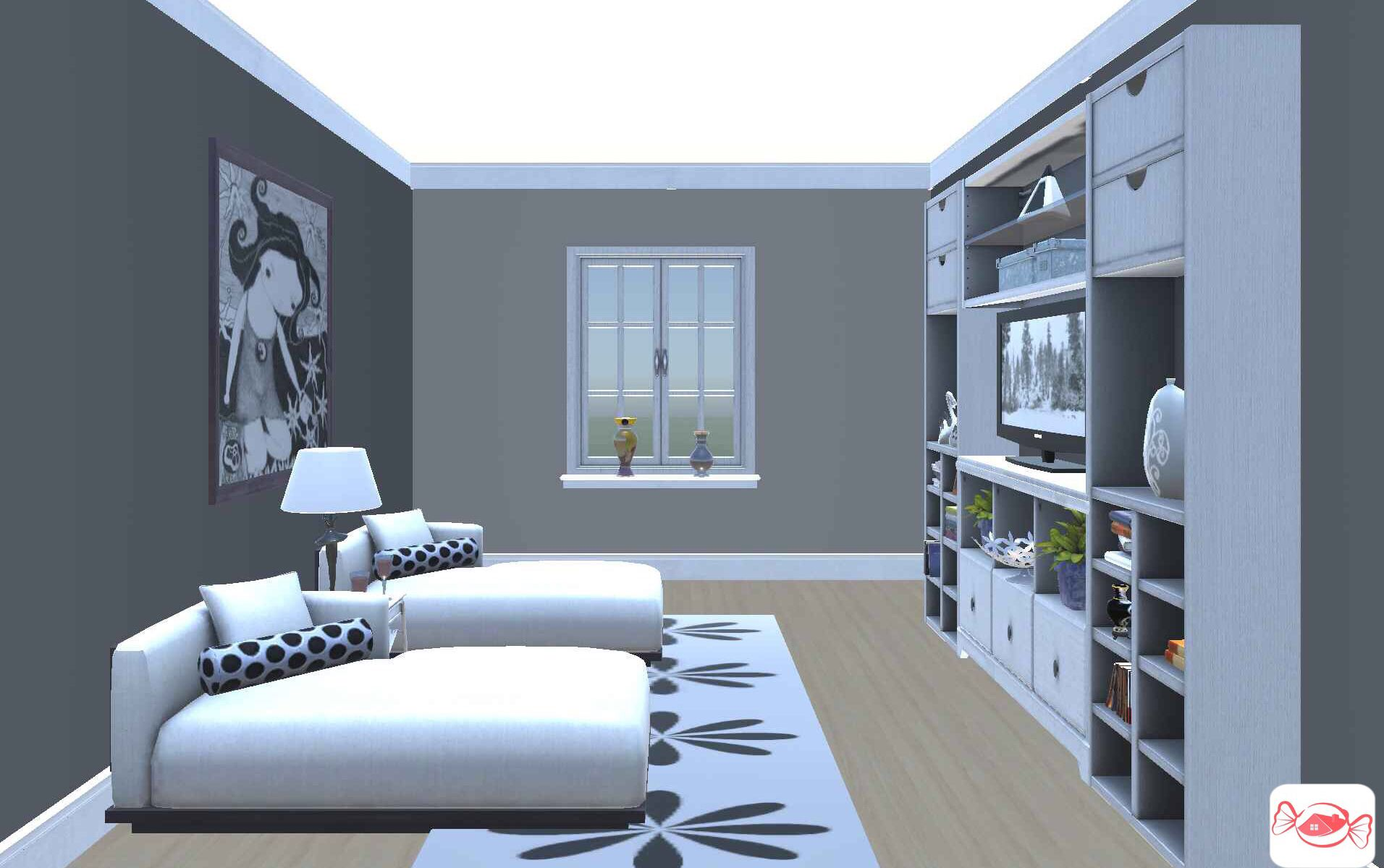 Pin By Design Crasher On Living Room Ideas Design Your Own Home 3d Home Design Home