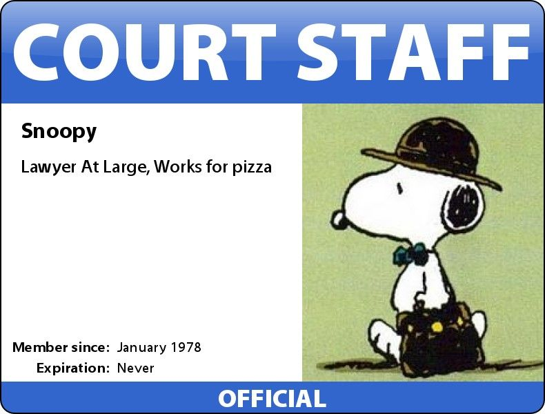 Court Staff Snoopy Lawyer At Large Snoopy Dance Snoopy Love