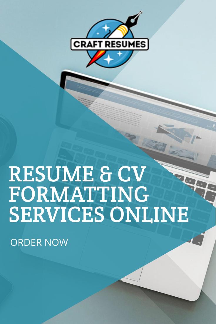 Resume Cv Formatting Services Online Professional Resume Writing Service Resume Resume Cv