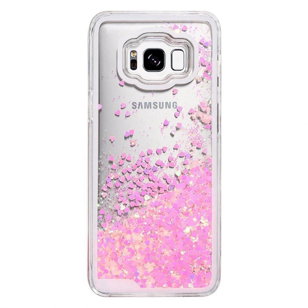 Galaxy S8 Case Caka Galaxy S8 Liquid Case Luxury Bling Flowing Liquid Floating Ebay Case Galaxy S8 Cute Phone Cases