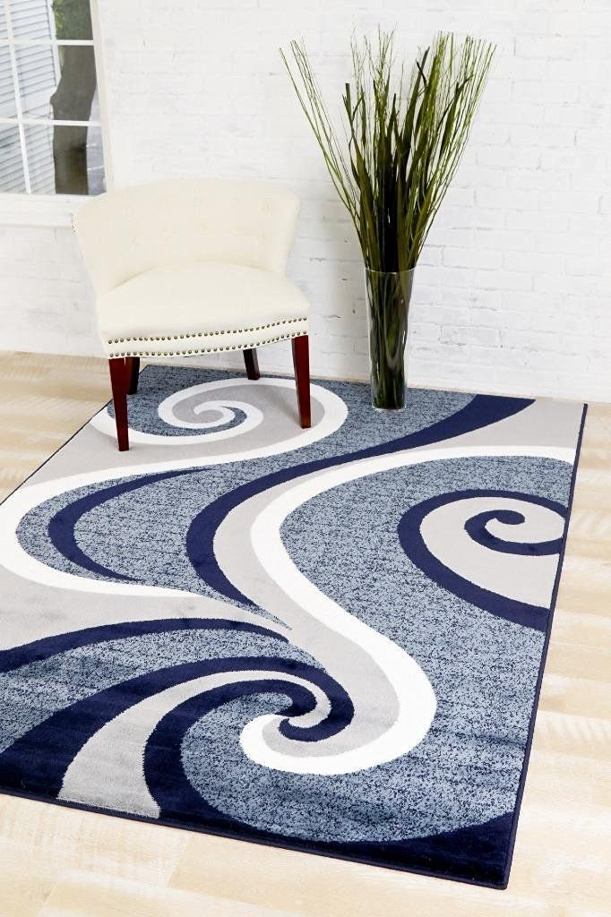0327 Blue 7 10x10 6 Area Rug Carpet Large New Startling Big Discounts Available Here Area Rugs Runne Contemporary Area Rugs Rugs On Carpet Area Rugs Cheap