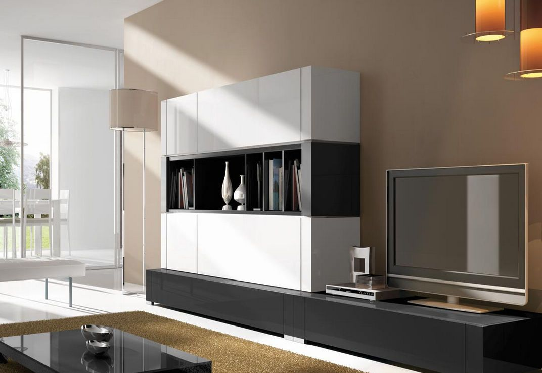 Modern Wall Unit Designs Zampco