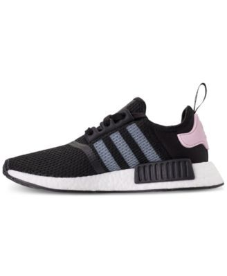 c85d01503 adidas Women s Nmd R1 Casual Sneakers from Finish Line - Black 8.5 ...