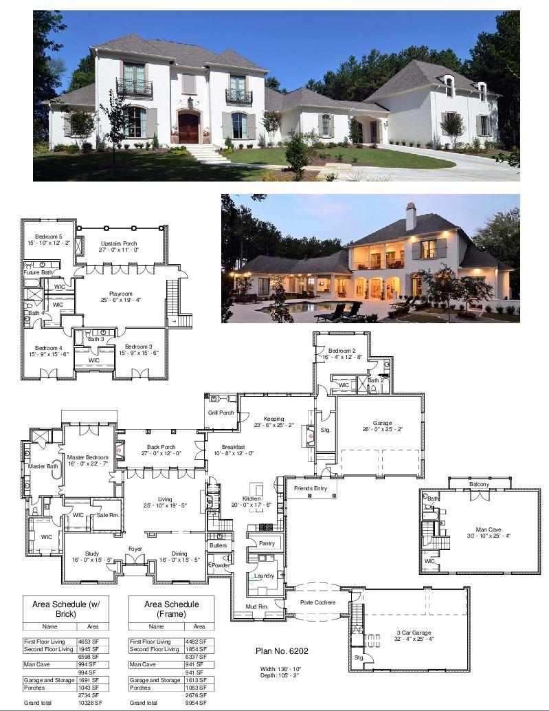 Plan 6202 Design Studio House Plans Mansion Architecture Model House House Blueprints