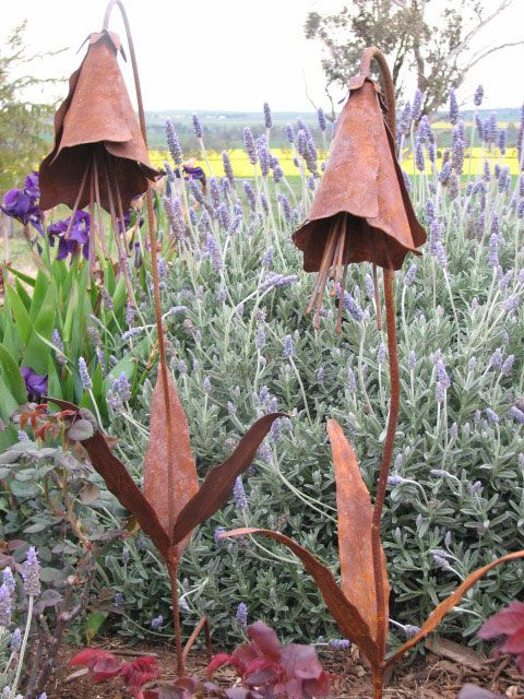 the oresome garden   handcrafted metal sculptures   home