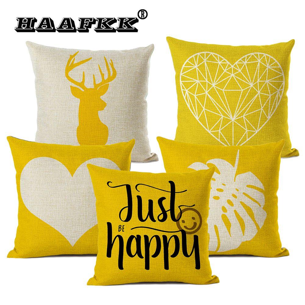 mustard yellow cushion cover 45 45