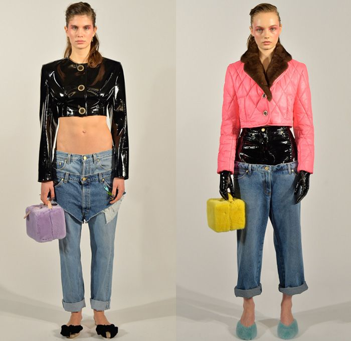 Cute purses, revolting outfits! Natasha Zinko 2017 2018 Fall