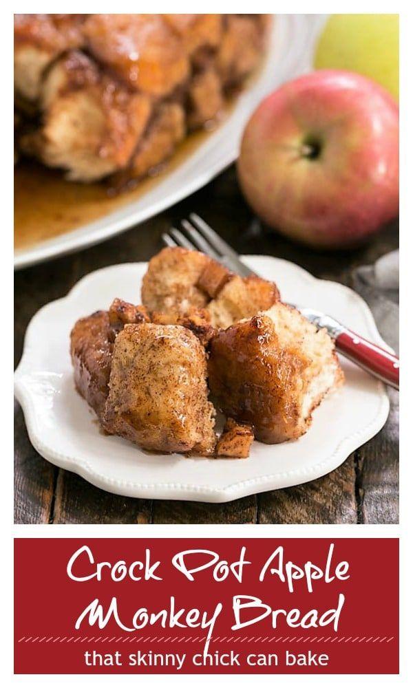 Apple Monkey Bread Crockpot Recipe
