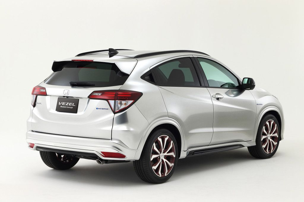 The Honda Vezel  Is Yet Another Dynamic Package From The Japanese Car Manufacturers With The Sharp Pointed Exterior Features This Vehicle Stands For