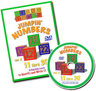 Jumpin' Numbers Vol. 2 DVD